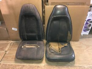 1970 Dodge Charger Challenger Plymouth Barracuda Gtx Roadrunner Bucket Seats