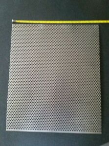 1 8 Holes 18 Gauge 304 Stainless Steel Perforated Sheet Approx 12 X 10