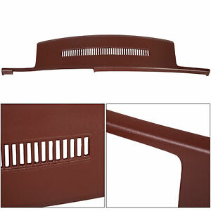 For 88 89 90 91 92 93 94 Chevy Gmc Pickup Blazer Suburban Dash Cover Cap Garnet