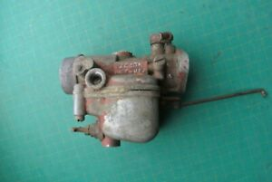 Zenith 1 Bbl Carburetor Barrel Red Paint For Parts Or Repair Vintage