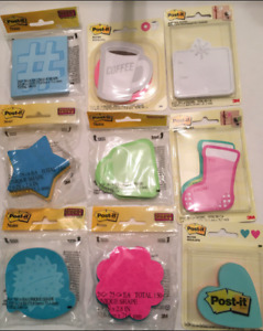 Post it Sticky Notes Assorted Types Colors Choose