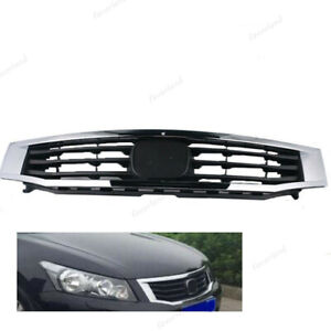 New Front Mesh Grille Grille Frame Fit For Honda Accord 2008 10 4 door Sedan