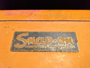 Vintage Snap On 6 Drawer Tool Box Top Chest No Key 1940 S Snap On Kr 56