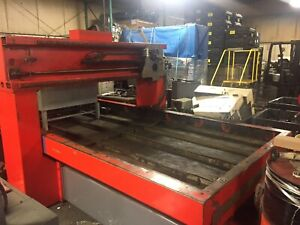 Laser Lab Laser Cutting Table Used 4 X 10 Sheets Plasma Cutting