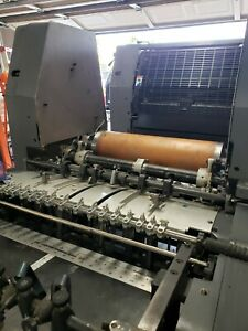 Heidelberg Gto 52 Press Magnetic Die Cut Cylinder Can Be Installed Into Any Gto