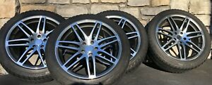 Audi Bmw Mercedes German Wheels And Winter Tires 4 Pc Combo