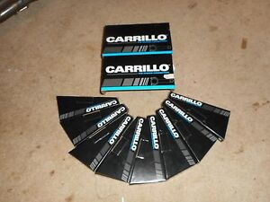 Nice Set Of Carrillo 8 Rods 787 Pin 6 200 Honda Lentz Crower Pankl 1 850 Nascar