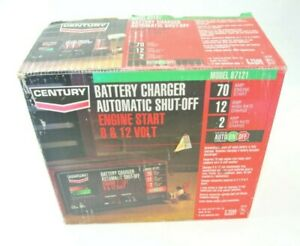 Century Battery Charger 6 12 Volt Model 87102 10 2 Amp