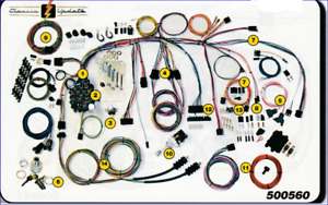 1960 1966 Chevy Gmc Truck Classic Wiring Harness Aaw New Usa Quality Wiring