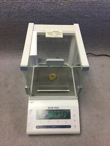 Mettler Toledo New Classic Mf Ms303s Analytical Lab Balance Excellent Condition