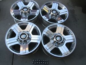 20 Ford F250 F350 Oem Factory Harley Davidson Wheels Rims