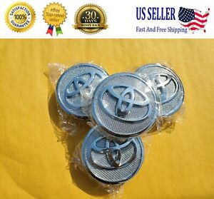 4x Toyota 57mm Wheel Center Caps Corolla Prius Yaris Satisfaction Guaranteed