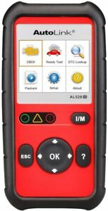 Autel Al529hd Heavy Duty Code Reader Diesel Truck Obdii Car Diagnostic Scanner
