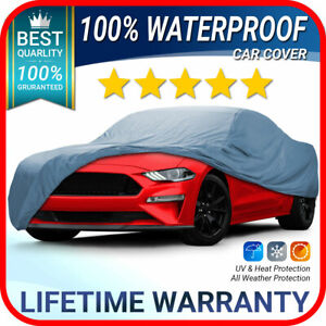 Fits Ford Mustang Gt Car Cover 100 Waterproof All Weather Customfit