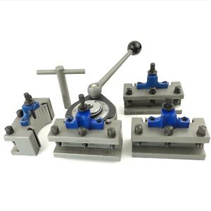 A1 Multifix 40 Position Tool Post 4 Pcs Ad2090 Turning Tool Holder Multifix A