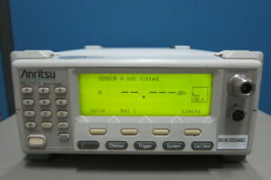 Anritsu Ml2437a Power Meter 10 Mhz To 110 Ghz