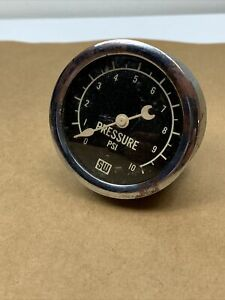 Stewart Warner 2 5 8 Curved Glass Fuel Pressure Scta Hot Rat Rod Race Car