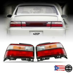 Tail Light Corner Rear Lamp Set 2 Pcs Fits 93 97 For Toyota Corolla Ae100 Ae010