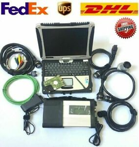 2020 Newest Mb Star C5 Mercedes benz Sd Connect Diagnostic Tool With Laptop