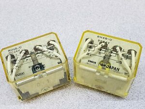 Idec Rh4b udc24v Power Relay 4pdt 24 Vdc 10 A Socket Non Latching