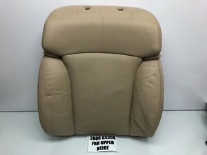 06 07 Lexus Gs Front Right Top Upper Seat Cover Cushion Perforated Leather Oem