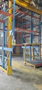 Used Structural Steel Racking System 9 X 48 X 17 Chicago Suburbs