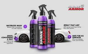 Best Quick Ceramic Coating Car Wax Polish Spray Fortify And Waterless Car Wash
