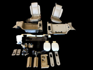 Land Rover Discovery 2 99 04 Jump Seats W hardware Tan Interior W Rear Air