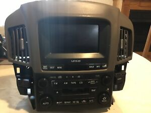 1999 2003 Lexus Rx300 Radio Climate Control Info Center Screen Bezel
