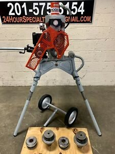 Ridgid 920 Hydraulic Roll Groover 2 24 Capacity Mounts To 300 Power Drive 918