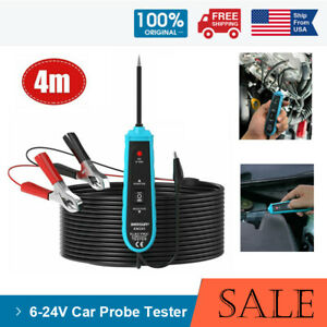 All sun Em285 Power Probe Car Automotive Electric Circuit Tester Tools 6 24v Dc
