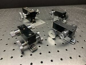 Melles Griot Fine Focus Linear Stages For Microscope