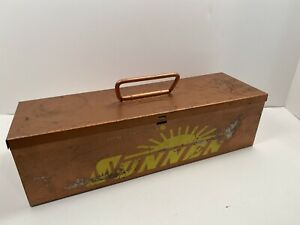 Vintage Sunnen An 112 Standard Portable Cylinder Hone Box Only Rare Hard To Find