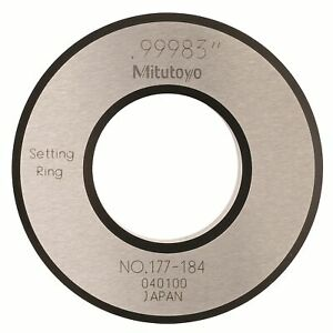 Mitutoyo Ring Gage 1 0in