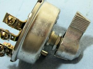 Cole Hersee Four Position Rotary Switch New Old Stock