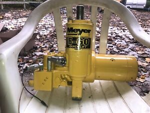 Meyer Pump Rebuild Your Pump Service E47 E57 E60 E60h Read Description Read