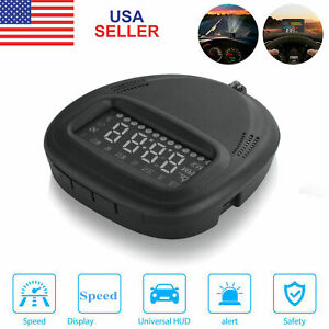 Universal Digital Car Auto Gps Mph Km H Hud Display Speedometer For Car Usa