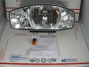 Western Fisher Snowex New Style H9 H11 Halogen Plow Light 38801 Drivers Side