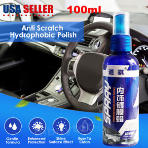 Anti Scratch Hydrophobic Polish Nano Coating Agent Car Interior Cleaner Restore