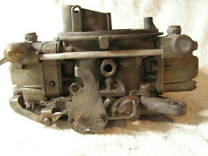 Used Holley List 1850 600 Cfm Vacuum Secondary Performance Carburetor