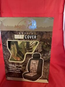 Mossy Oak Lowback Seat Cover Set Of 2 Covers