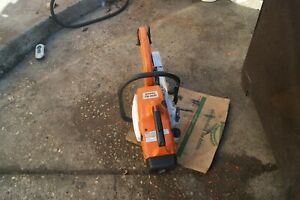 Stihl Ts400 Gas Powered Concrete Cut off Saw We Ship Only To East Coast