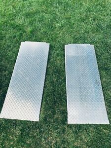 Bandpack Lift 4 Post 48 Aluminum Approach Car Ramps