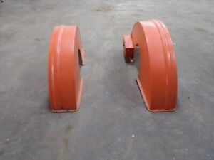 Allis Chalmers Wc Unstyled Rear Fenders