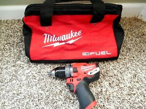 New Milwaukee M12 Fuel Brushless 12volt 1 2 Hammer Drill Free Shipping