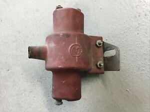 Vintage Mallory 12v Ignition Coil Hot Rod Rat Rod Drag Racing Muscle Car Mancave