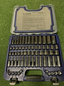 Blue Point 85 Piece Socket Set In Hard Case Perfect