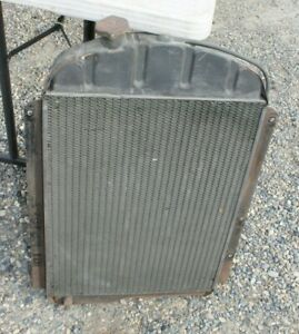 1937 1938 Chevy Re Cored 3108269 Radiator Br