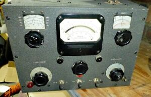 Vintage Boonton Q Meter Type 190 a Ships Free