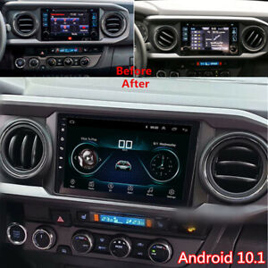 9 Inch Android 10 1 Car Radio Stereo Mp5 Gps Wifi Fm For Toyota Tacoma 2016 2020